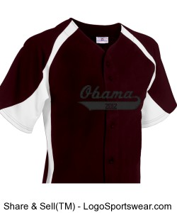Adult Clutch Full Button Baseball Jersey Design Zoom